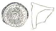 薩摩国分寺創建時の軒丸瓦