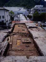 寿国寺のはん池跡