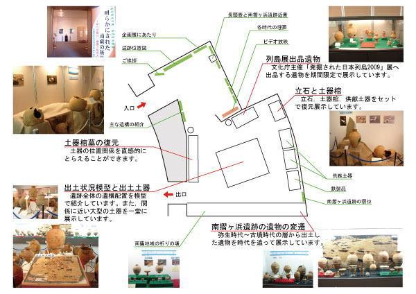 展示室案内図