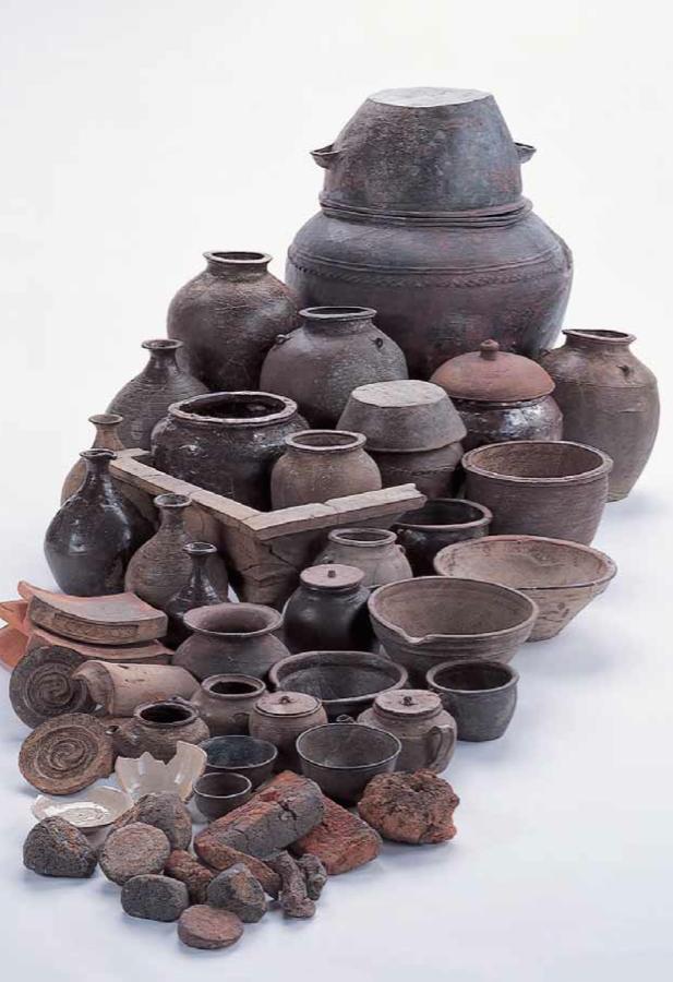 堂平窯で作られた薩摩焼
