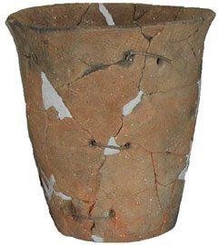 補修孔のある土器